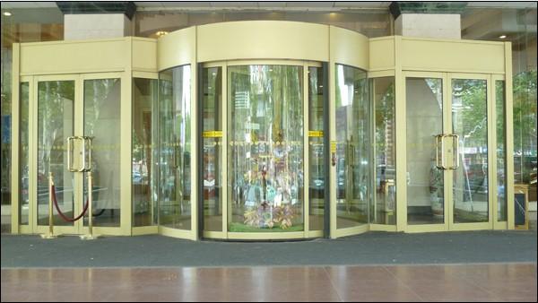 张店科佳门窗提供的淄博旋转门怎么样_张店旋转门 临淄旋转门
