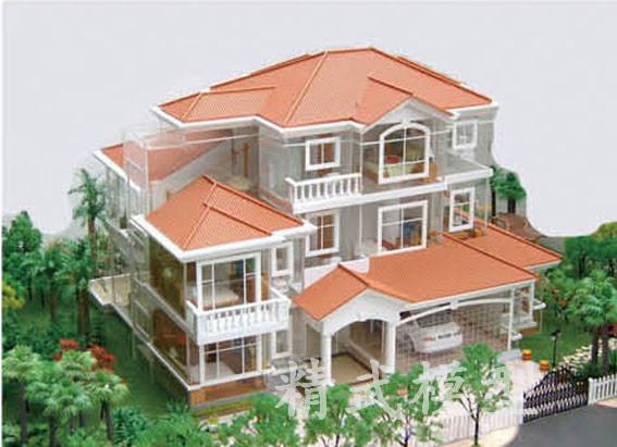 福州别墅模型,福建别墅模型