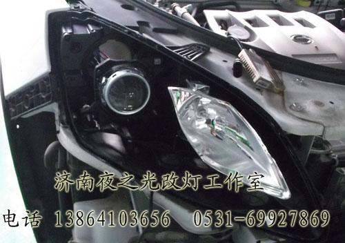 山东济南专业改灯店提供氙气大灯改装、天使眼改装
