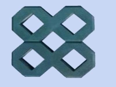 单8字植草砖
