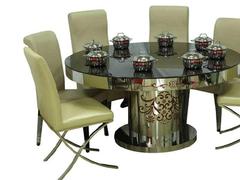 廊坊市质量优质火锅桌,就在利鑫家具