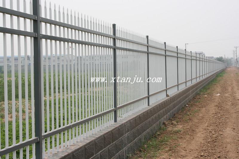 新型组装式锌钢围墙栅栏