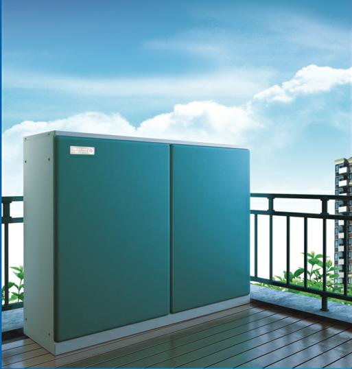 阳台柜式一体机 纽恩泰空气能热水器批发