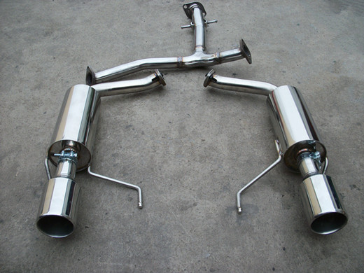 丰田锐志改装CGW直排双边单出排气管