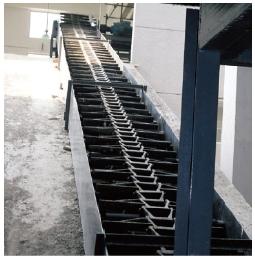 重型框链刮板除渣机