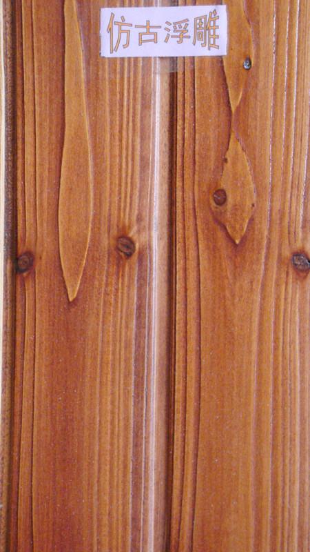 仿古浮雕杉木烤漆墙壁板-258.com企业服务平台
