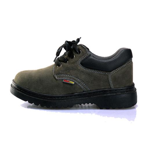 反绒军绿001劳保鞋