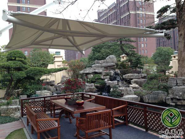 别墅花园景观设计,私家庭院景观设计