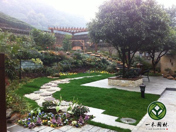 欧式庭院景观设计
