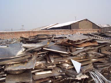 青岛废旧钢材回收厂家 青岛高价回收废旧钢材 【瑞福来】