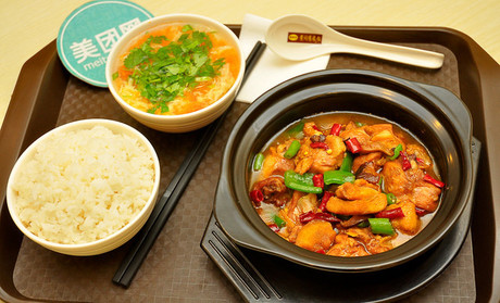 香香黄焖鸡米饭