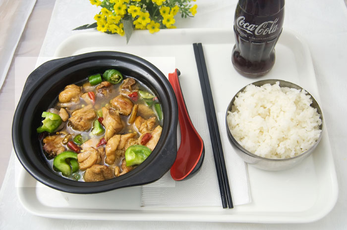 黄焖鸡米饭,营养丰富,有滋有味