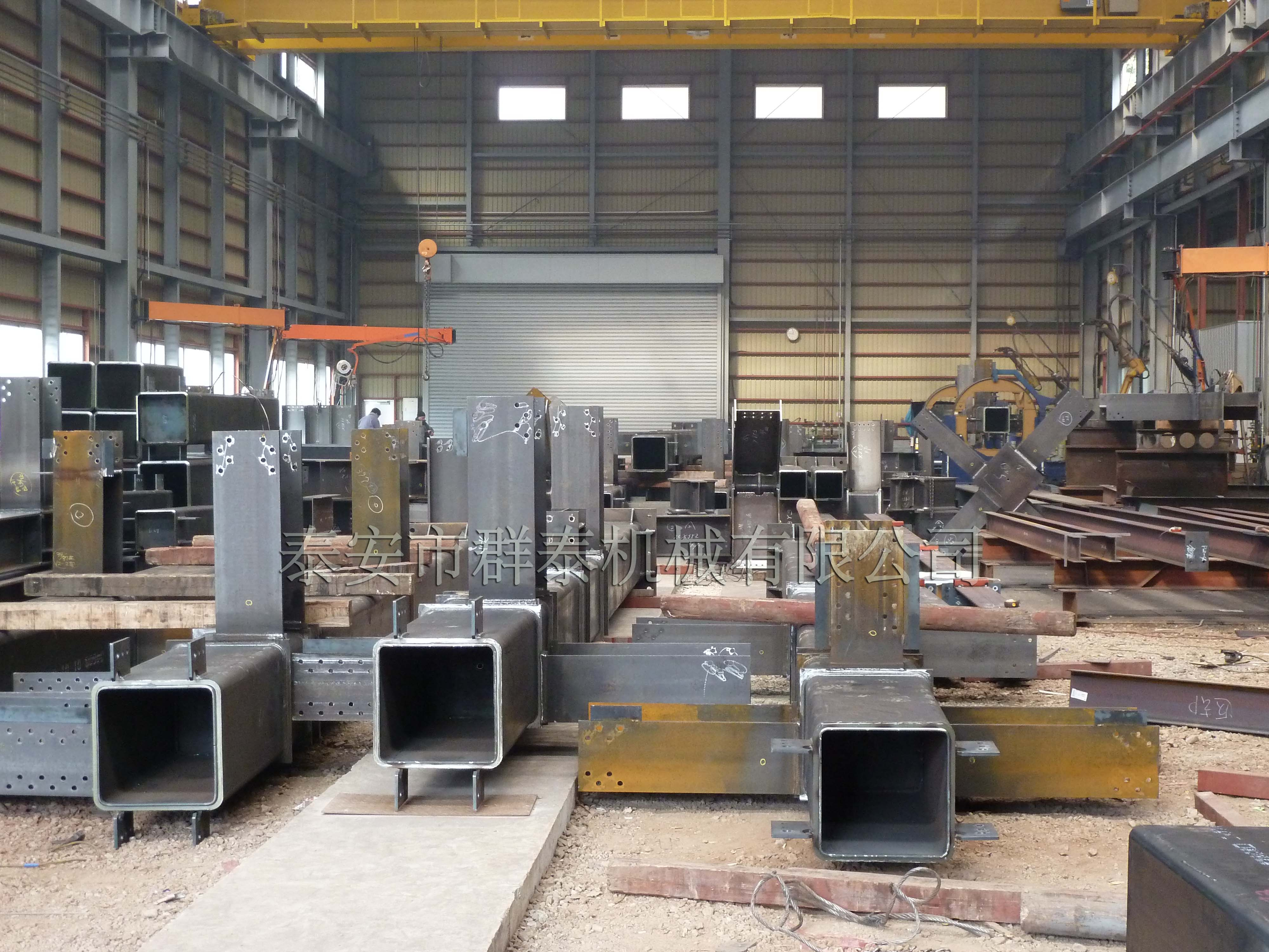 鋼結構焊接設備制造 ——焊接升降架