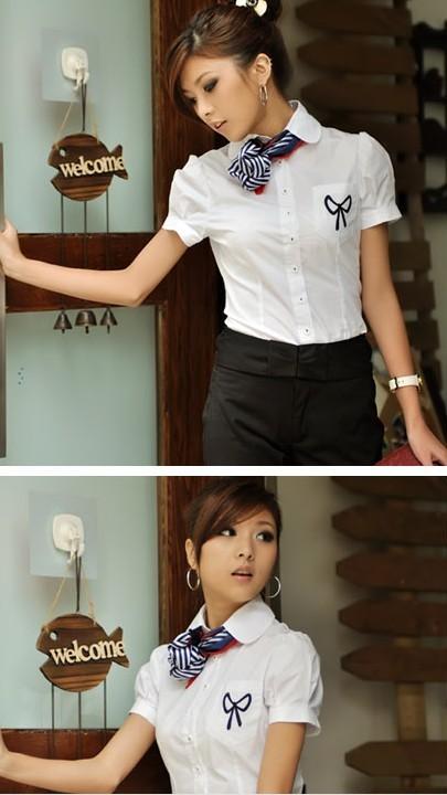 云南昆明女式职业装衬衣夏装定做