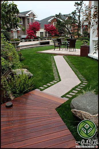 别墅花园景观设计,私家庭院景观设计,庭院假山水景设计图片