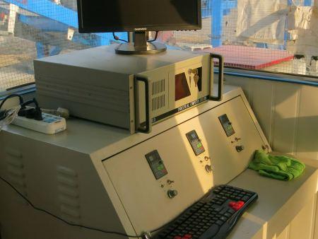 礦井充填站電腦控制設備