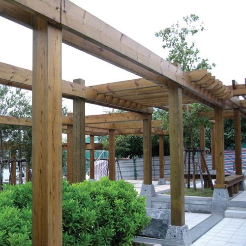 广西防腐木|广西木结构施工|南宁菠萝格|碳化木|南宁