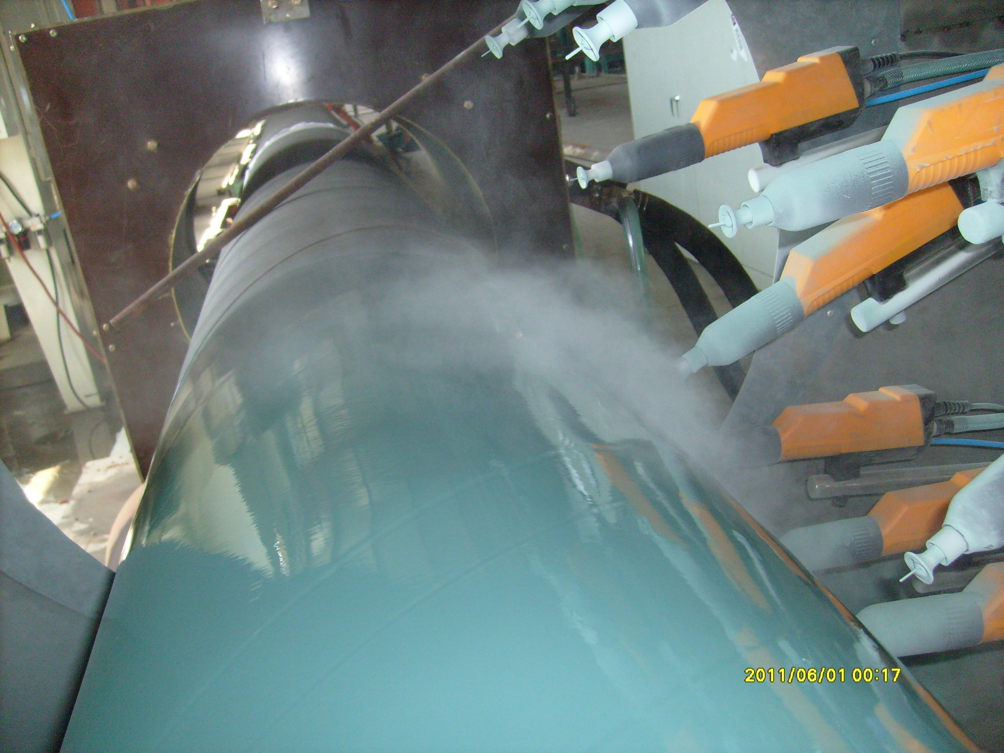 诚挚推荐优秀的环氧粉末喷涂设备