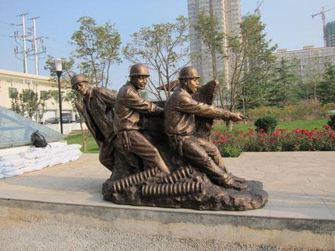 兰州雕塑公司兰州不锈钢雕塑铸铜雕塑甘肃人物雕塑公司