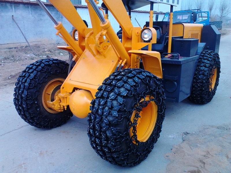铲轮胎车保护链