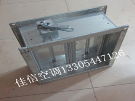 镀锌钢板风阀特点及用途