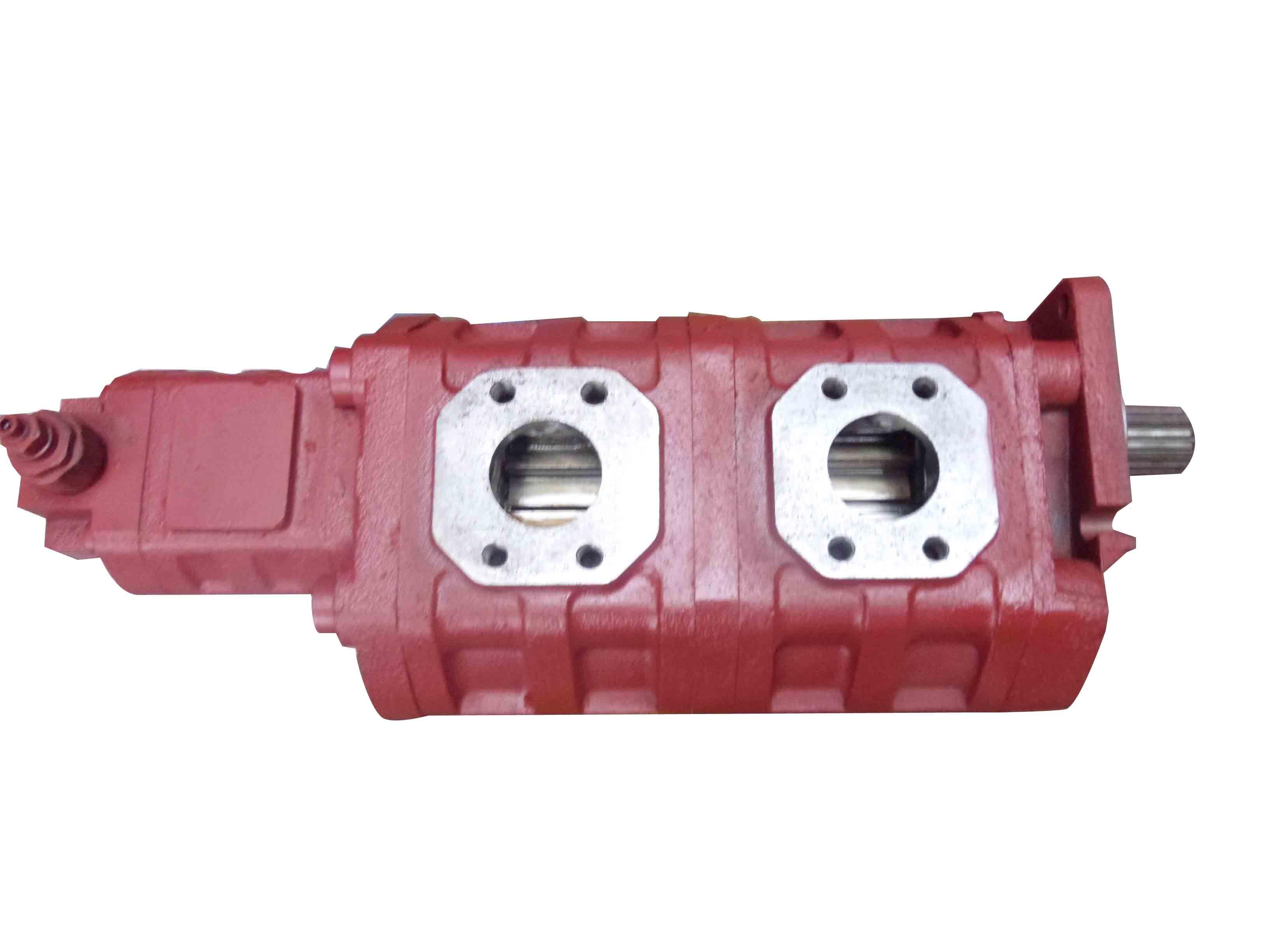 鉆機專用高壓大排量三聯齒輪油泵
