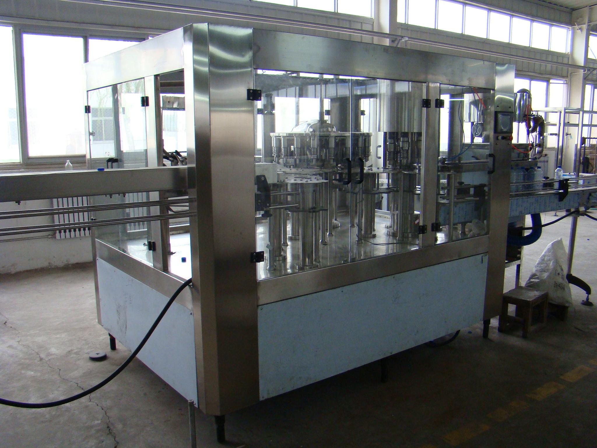 灌装机瓶装水灌装机全程综合水处理设备桶装水灌装机
