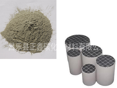 车辆尾气净化(DPF)碳化硅微粉