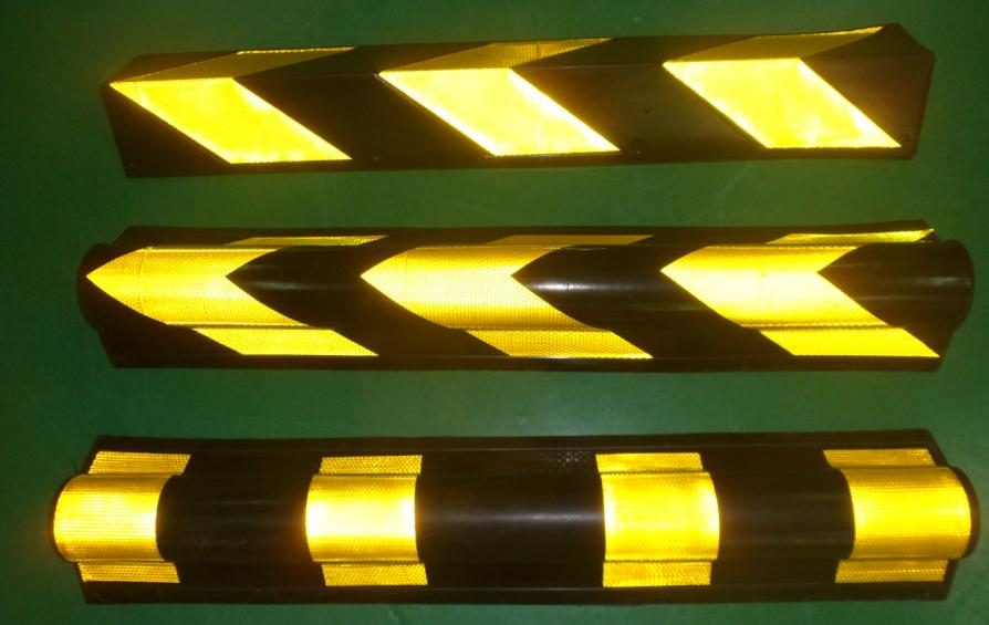 優質橡膠反光圓護角