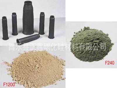 浇铸反应烧结碳化硅微粉