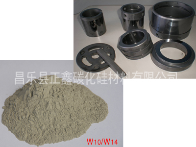 静等压反应烧结碳化硅微粉