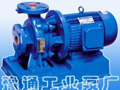 价格合理的ISW直联泵 豫通工业泵厂YTW卧式直联泵怎么样