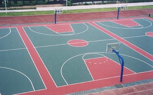 四川 重庆塑胶球场 塑胶跑道 幼儿园小区安全地面