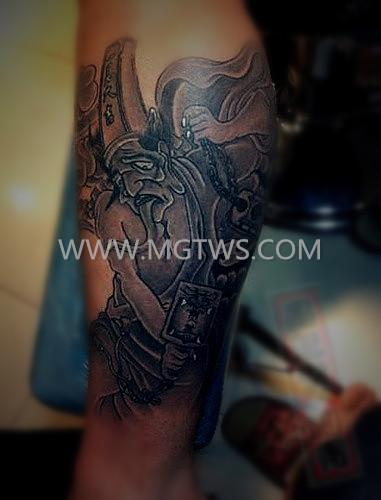 福州纹身 墨鬼堂 鬼神纹身 最好的纹身店