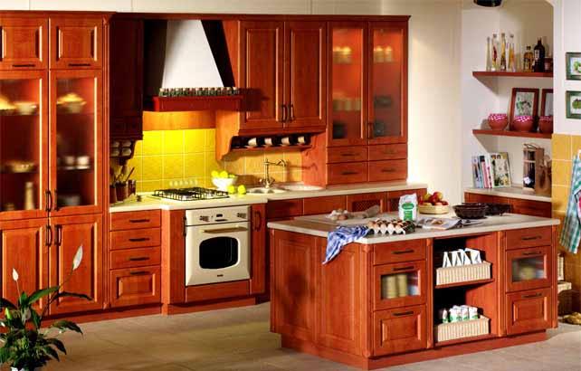 推荐郑州质量硬的实木橱柜——价格实惠的橱柜-优变