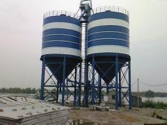 平谷水泥罐供应商|【实力厂家】生产供应水泥罐
