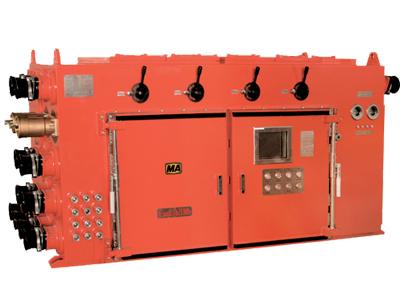 矿用隔爆兼本质安全型多回路真空电磁起动器