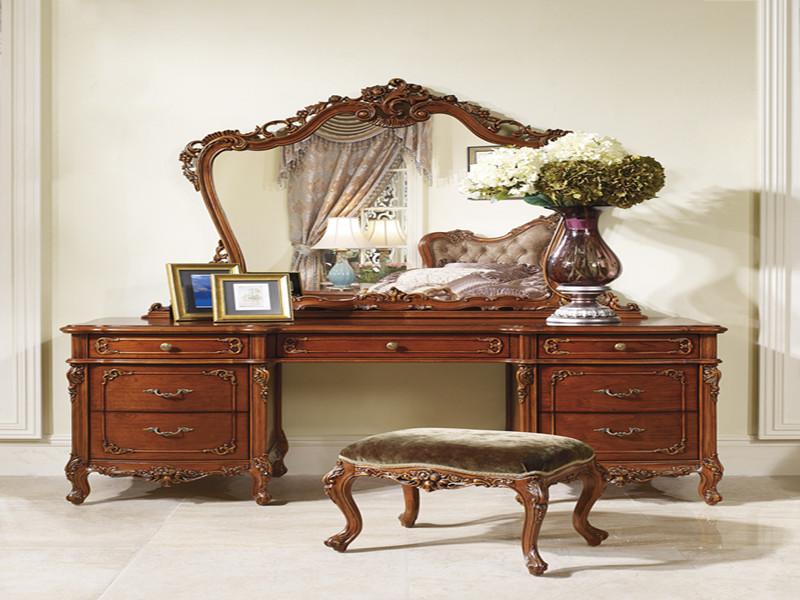 欧式红木梳妆台