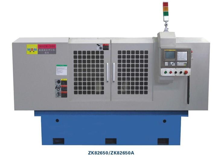 广西数控钻孔床-ZK82650A 数控平端面打中心孔钻床