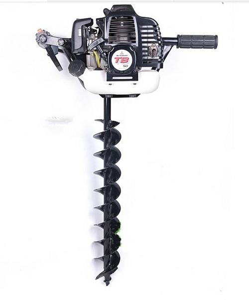 三菱TB50汽油地钻机.种植机械.挖坑机.植树钻孔机.打孔机