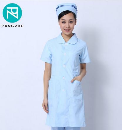 庞哲短袖护士服药店工作服护士工作服医护工作服护士装