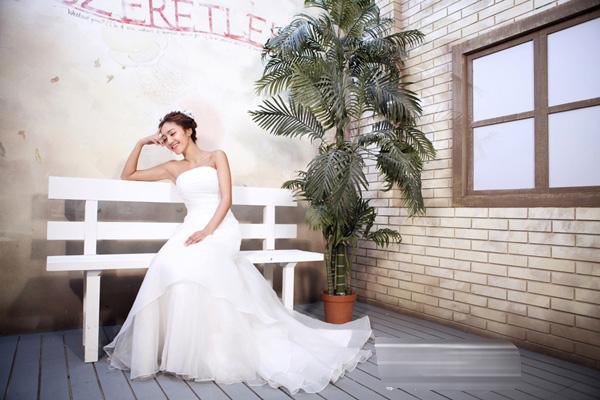 影楼实景制作韩式实景制作婚纱实景设计欧式