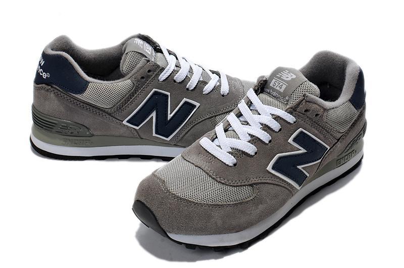 厂家直销新百伦ml574ss1灰色网面透气男女跑步运动鞋