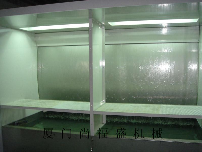 厦门哪里有专业的喷漆台 泉州水帘柜