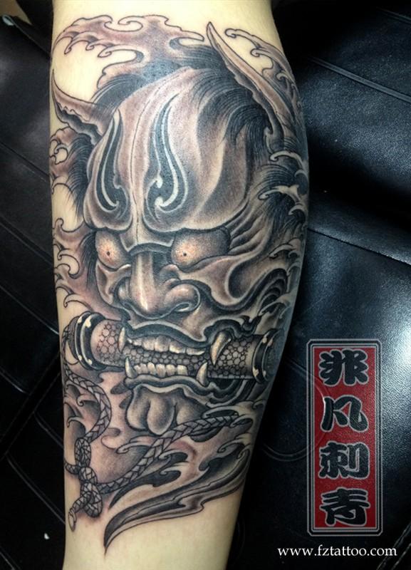 福州纹身 手臂般若纹身
