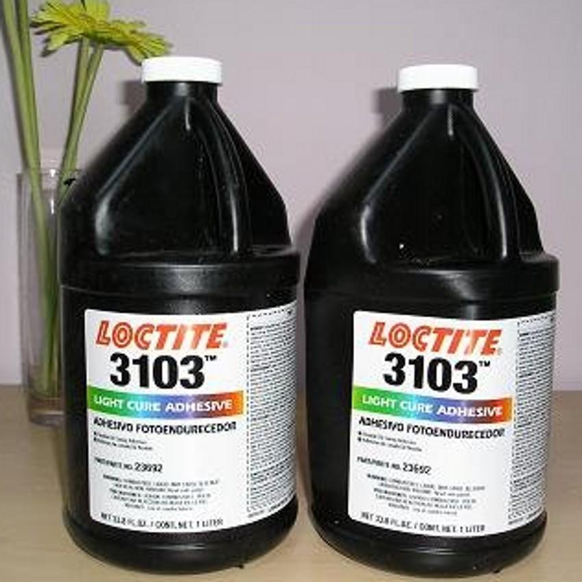 ***汉高乐泰胶粘剂/3103UV胶水/紫外线光固化剂/无影胶