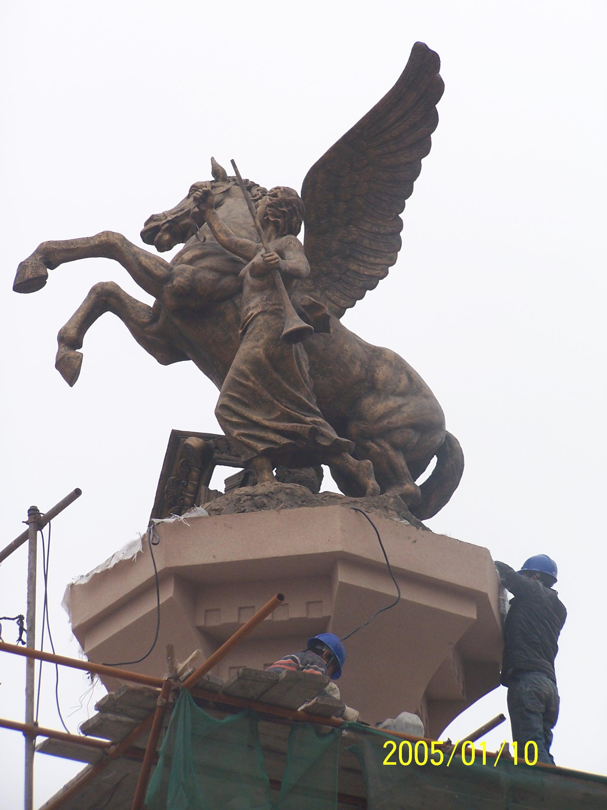 河南雕塑制作哪家最专业首选郑州山源雕塑制作公司