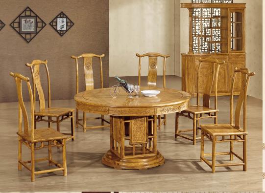 临夏酒店餐桌|供应兰州优良的红木餐桌