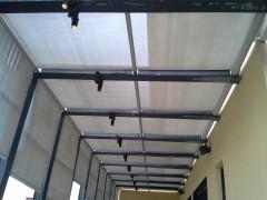 高质量的户外遮阳棚哪里买 价位合理的东莞户外遮阳棚安装