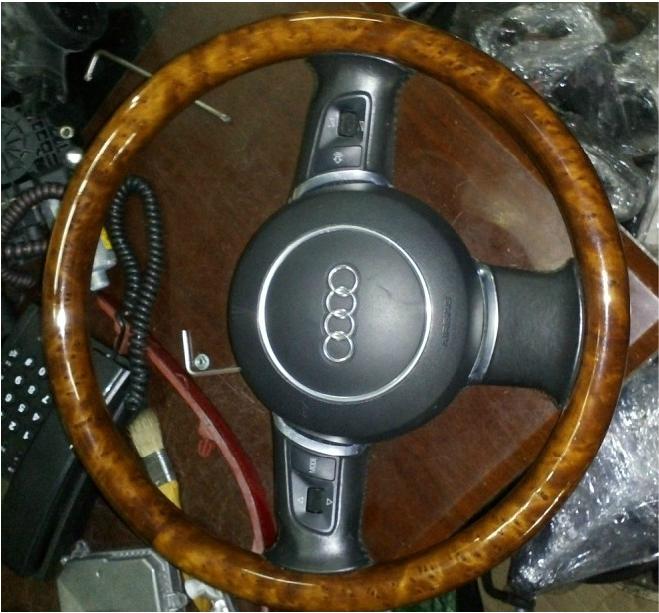 【奥迪a4拆车件】奥迪a4方向机 方向盘拆车件价格 图片